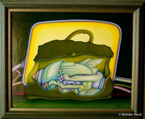 Ulje na platnu, 24x30 cm, 2007