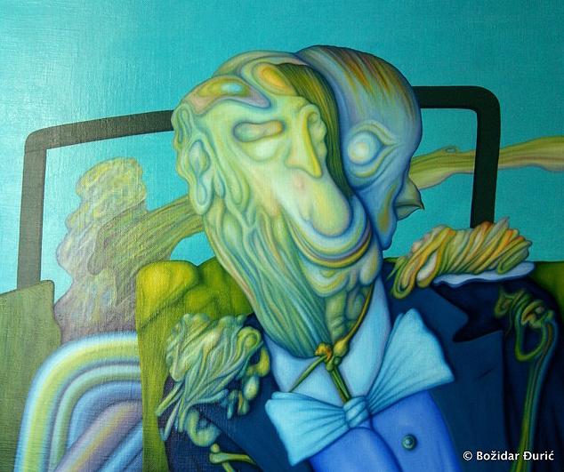 Plavi portret