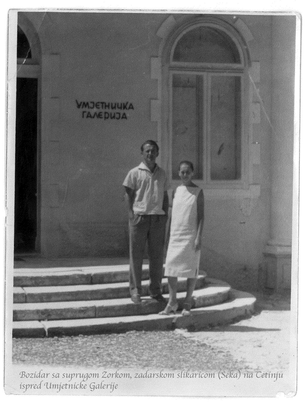 Tata i mama na Cetinju